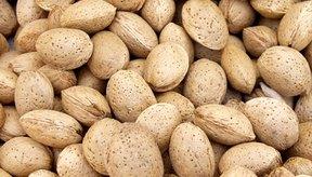 Las almendras son ricas en vitamina E.