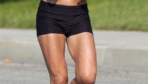 Es común sudar al hacer ejercicio.