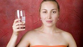 El agua potable alta en hierro es buena para ti pero el sabor metálico es desagradable.