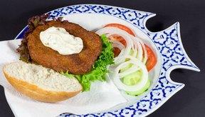 El pescado frito está bien con moderación.