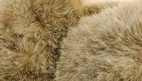 La piel sintética es mucho más común que la verdadera.