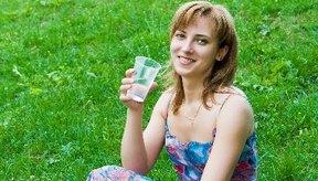 No te olvides del agua en tu dieta de desintoxicación.