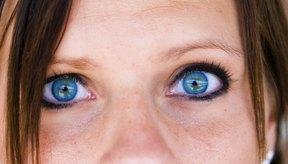 Ojos azules.