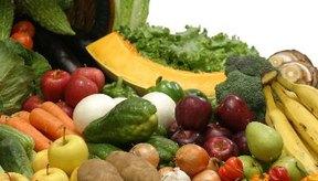 Las frutas y verduras son parte de una dieta bien equilibrada para los pacientes con quimioterapia.
