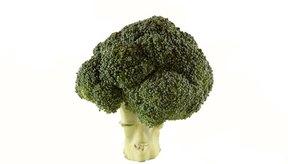 El brócoli es una buena fuente de vitamina B1.