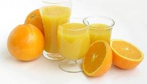 Las naranjas son una buena fuente de potasio.
