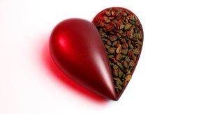 Arterias del corazón humano.