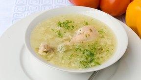 Sopa de pollo.