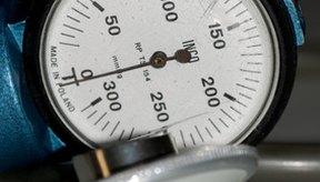 La presión arterial se mide en milímetros de mercurio.