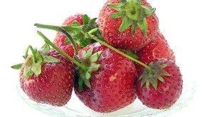 Las fresas son una excelente fuente de vitamina C.