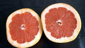 El pomelo tiene un rango en el índice glucémico de 25.
