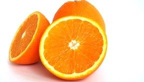 Las naranjas contienen un alto nivel de potasio.
