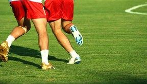 El fútbol desarrolla ciertos músculos más que otros.
