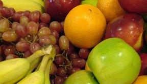 Alimentos que contienen fibra.