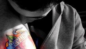 Tatuaje colorido.