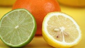 Los frutos cítricos tienen un alto contenido de vitamina C.