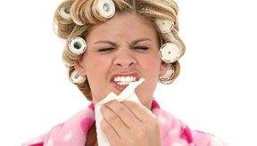 Los síntomas más comunes son el flujo nasal, ojos rojos, estornudos y picazón en la piel.