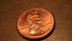 En 1982, las monedas se hicieron con un 97,5 por ciento de zinc y un 2,5 por ciento de cobre.