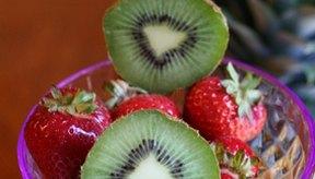 Frutas de colores brillantes
