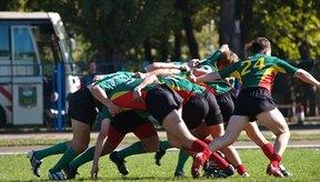 Aunque existen variaciones, un partido de rugby dura 80 minutos.
