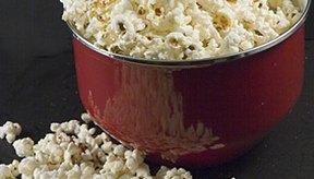 Las palomitas pueden ser bajas en calorías y altas en fibra.