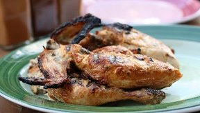El pollo no contiene carbohidratos.
