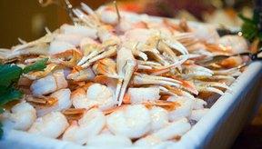 ¿Qué mariscos tienen altos niveles de colesterol?