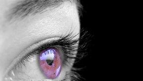 Sacude con tus ojos violeta como Liz Taylor.