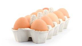 Los huevos son ricos en glutamato.