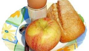 Un desayuno saludable.
