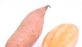 Las batatas tienen carbohidratos nutritivos de alta calidad.