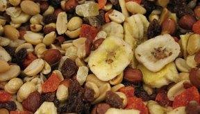 Los ingredientes básicos de las mezclas de frutos secos son saludables cuando las medidas igualan tu nivel de actividades.
