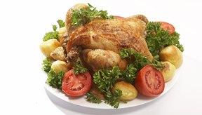 El pollo es rico en varias vitaminas B.