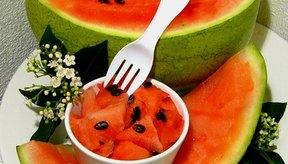 Las sandía te ayuda a hidratar el cuerpo luego de un ayuno.