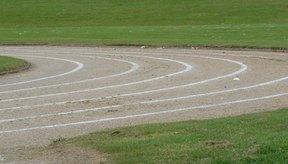Una pista estándar es un óvalo de 400 metros.