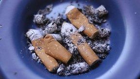 Efectos secundarios que se presentan al dejar el consumo de tabaco.