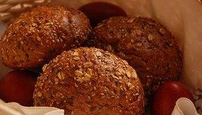 El pan es rico en gluten y carbohidratos