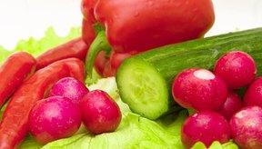 Da color al escoger verduras.