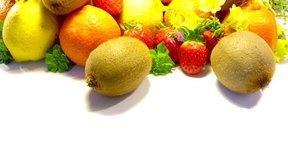 Las frutas frescas son muy saludables.