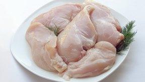 Las pechugas de pollo tienen menos grasa.