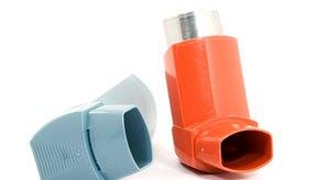 Los trastornos pulmonares que causan presión en el pecho y tos suelen ser administrados con inhaladores.