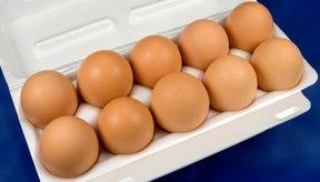 Las claras de huevo son una de las fuentes más magras de proteína.