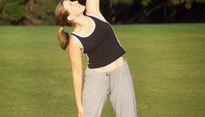 Conserva tu sistema muscular sano haciendo estiramientos regularmente.