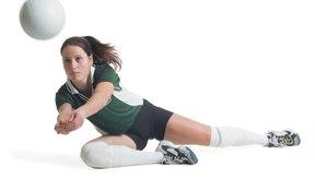 La mayoría de las lesiones en el voleibol son menores.