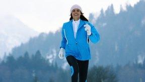 Correr con aire frío y seco puede aumentar los riesgos de contraer bronquitis.