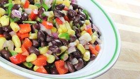 El maíz y los frijoles son un alimento básico en la cocina mexicana.