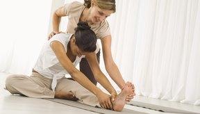 Los ejercicios de flexibilidad pueden ser una parte de la terapia física.