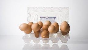 Cartón de huevos.