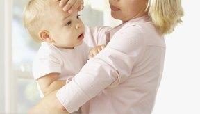 Ponte en contacto con el pediatra si tu bebé tiene fiebre.