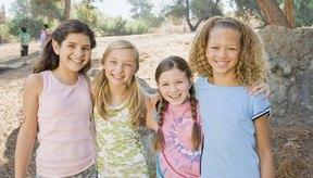 Las niñas comienzan a ganar peso a medida que se acercan a la pubertad.